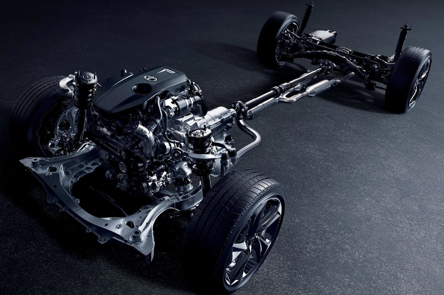 2.0L TURBO ENGINE 8AR-FTS イメージ